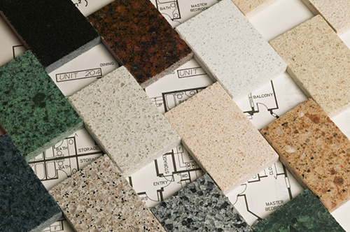 granite swatches